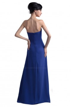 Empire Sweetheart Long Blue Bridesmaid Dresses/Wedding Party Dresses/Maternity Dresses BD010087