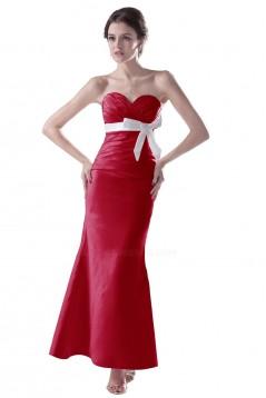 Trumpet/Mermaid Sweetheart Long Bridesmaid Dresses/Wedding Party Dresses BD010088