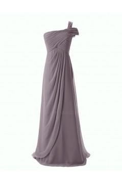 Sheath/Column One-Shoulder Bridesmaid Dresses/Wedding Party Dresses BD010108
