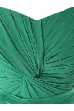 Sheath/Column Sweetheart Long Purple Chiffon Bridesmaid Dresses/Wedding Party Dresses BD010114