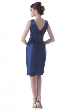 Sheath V-Neck Short/Mini Bridesmaid Dresses/Wedding Party Dresses BD010130