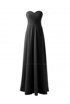 A-Line Sweetheart Long Chiffon Bridesmaid Dresses/Wedding Party Dresses BD010149