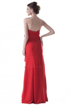 Strapless Long Bridesmaid Dresses/Wedding Party Dresses BD010157