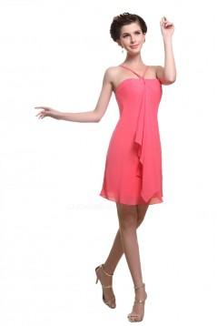 Short/Mini Chiffon Bridesmaid Dresses/Wedding Party Dresses BD010159