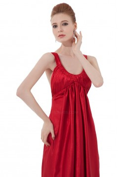 Empire Long Red Bridesmaid Dresses/Wedding Party Dresses/Maternity Dresses BD010165