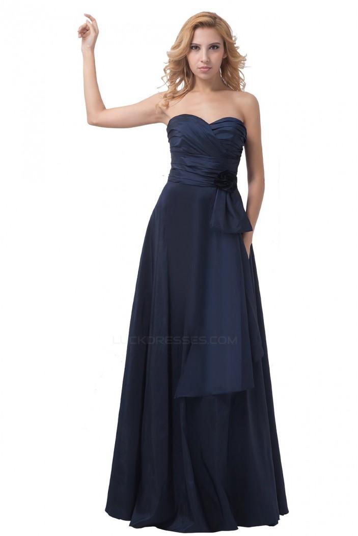 A-Line Sweetheart Long Bridesmaid Dresses/Wedding Party Dresses BD010174