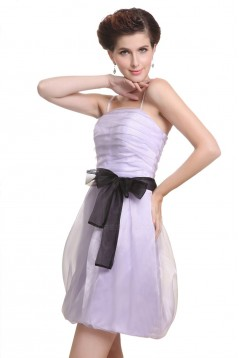 Short/Mini Spaghetti Strap Bridesmaid Dresses/Wedding Party Dresses BD010188