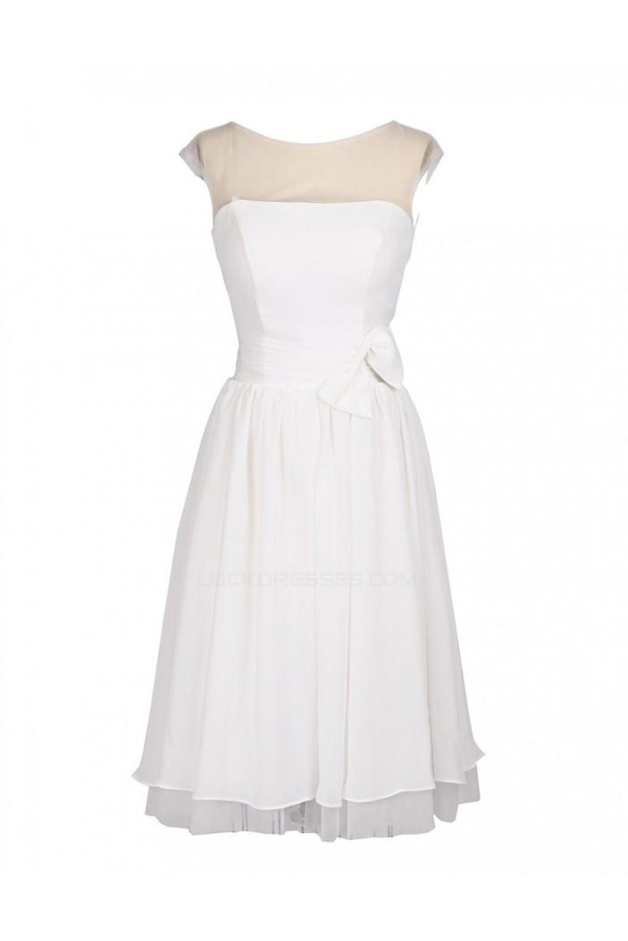 A-Line Short Black Bridesmaid Dresses/Wedding Party Dresses BD010189