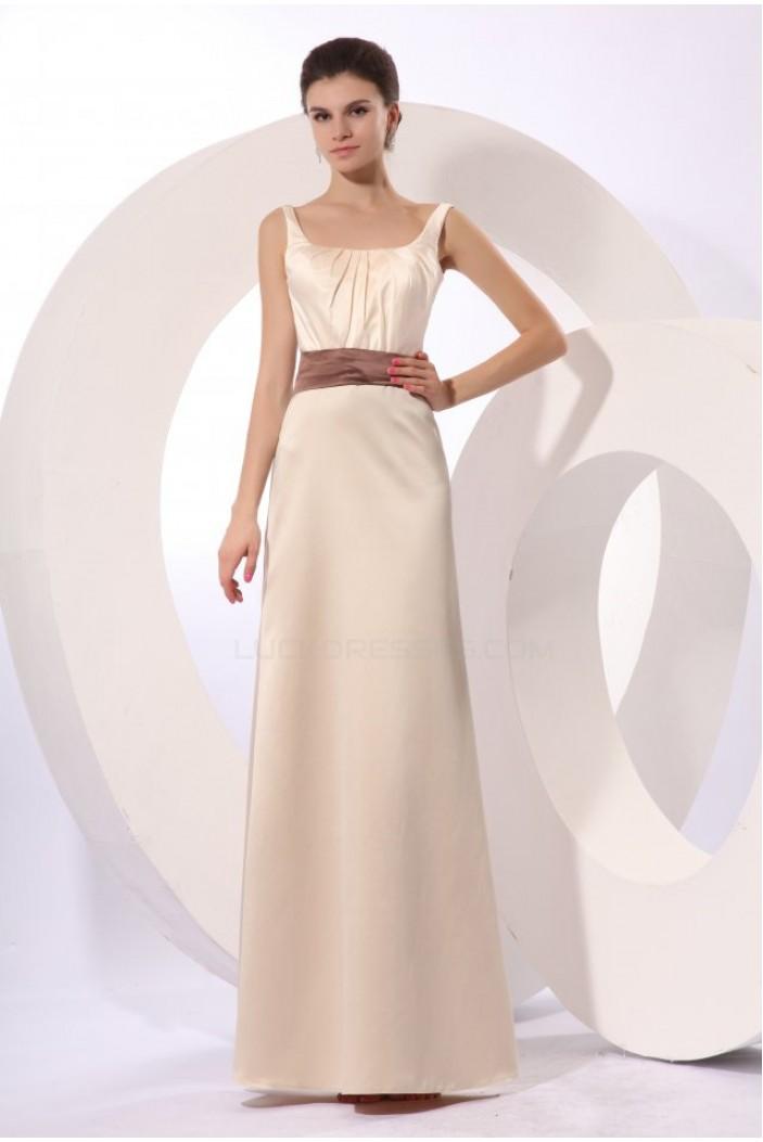A-Line Bowknot Floor-Length Bridesmaid Dresses/Wedding Party Dresses BD010200