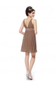 Empire Short V-Neck Floor-Length Bridesmaid Dresses/Wedding Party Dresses/Maternity Dresses BD010209