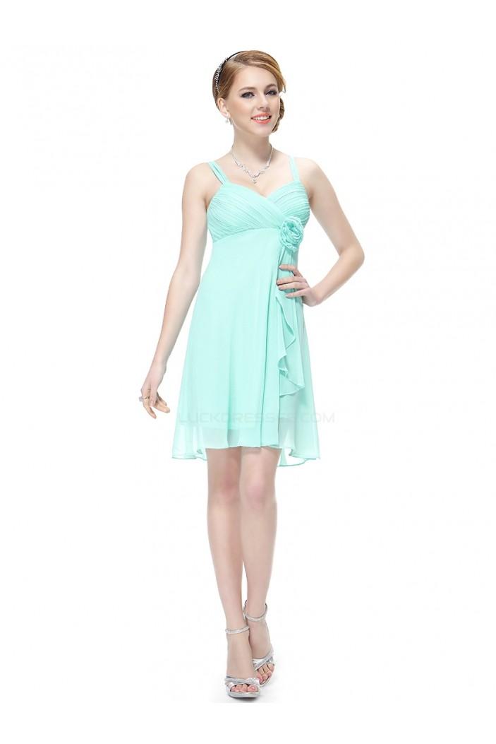 Empire Short Blue Chiffon Bridesmaid Dresses/Wedding Party Dresses/Maternity Dresses BD010212