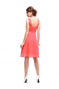 Empire Short Chiffon Bridesmaid Dresses/Wedding Party Dresses/Maternity Dresses BD010213