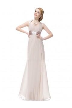A-Line Long Chiffon Bridesmaid Dresses/Evening Dresses BD010272