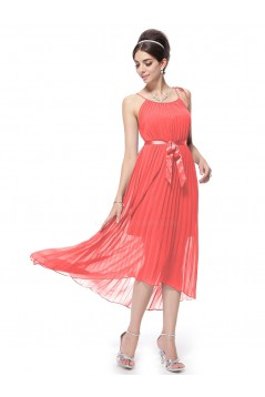 A-Line Pleated Short Chiffon Bridesmaid Dresses/Party Dresses BD010299