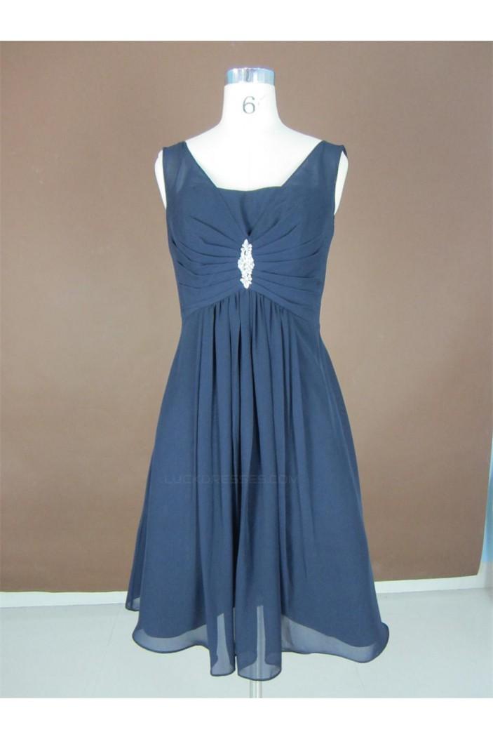A-Line Short Chiffon Bridesmaid Dresses/Wedding Party Dresses BD010338