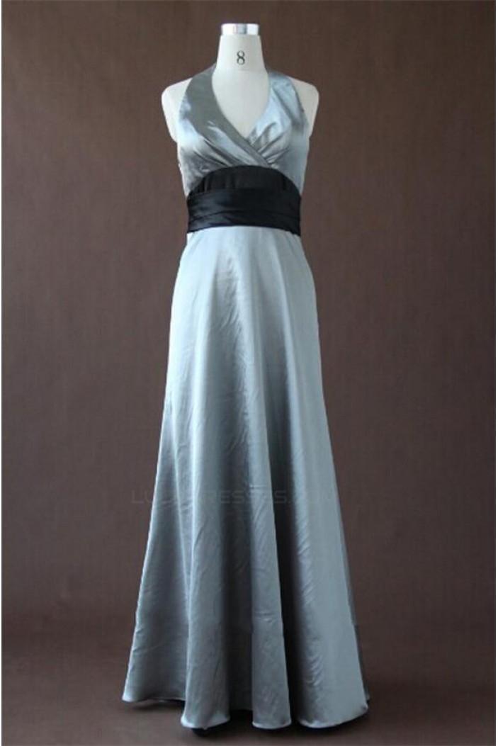 A-Line Halter Long Bridesmaid Dresses/Wedding Party Dresses BD010342