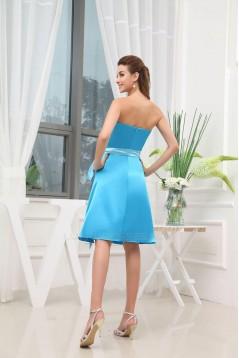 A-Line Sweetheart Short Blue Bridesmaid Dresses/Wedding Party Dresses BD010357