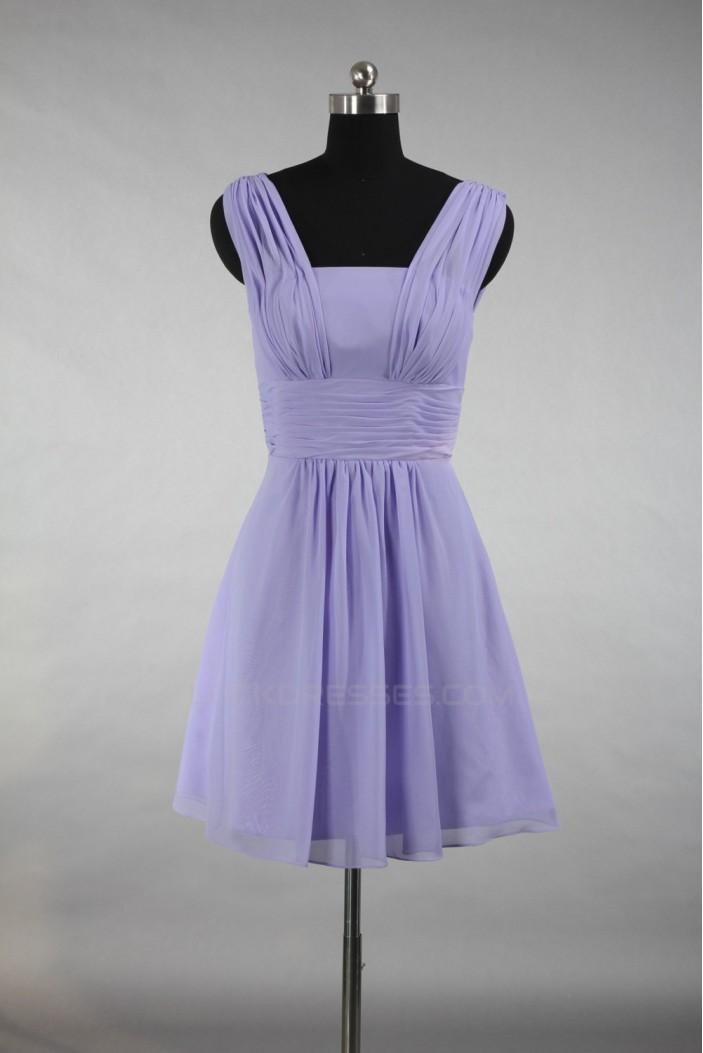 A-Line Short Chiffon Bridesmaid Dresses/Wedding Party Dresses BD010399