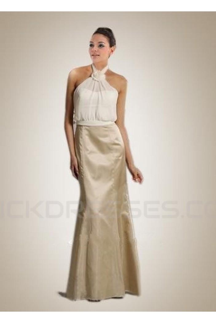 Trumpet/Mermaid Floor-Length Bridesmaid Dresses/Wedding Party Dresses BD010424