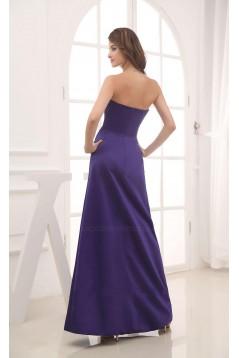 A-Line Sweetheart Purple Floor-Length Bridesmaid Dresses/Wedding Party Dresses BD010447