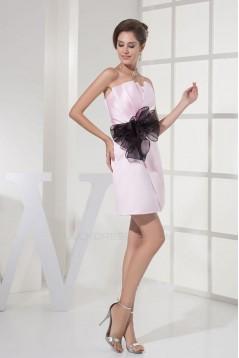 Short/Mini Strapless Bridesmaid Dresses/Wedding Party Dresses BD010455