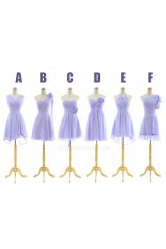 A-Line Short Chiffon Bridesmaid Dresses/Evening Dresses BD010543