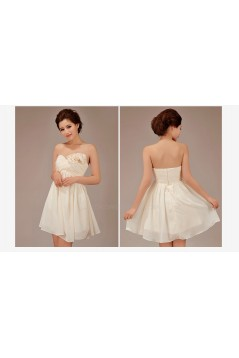 Empire Sweetheart Short Chiffon Bridesmaid Dresses/Evening Dresses BD010547