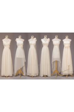 A-Line Long Chiffon Bridesmaid Dresses/Evening Dresses BD010563