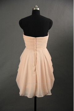 A-Line Sweetheart Short Chiffon Bridesmaid Dresses/Wedding Party Dresses BD010661