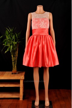 A-Line Short Bridesmaid Dresses/Wedding Party Dresses BD010683