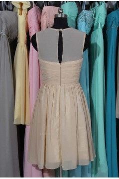 A-Line Short Chiffon Bridesmaid Dresses/Wedding Party Dresses BD010696