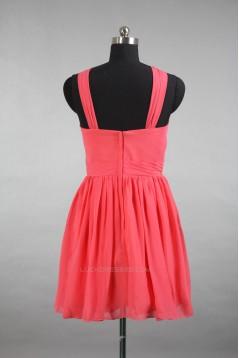 A-Line Short Chiffon Bridesmaid Dresses/Wedding Party Dresses BD010722