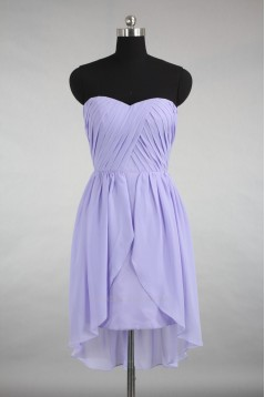 A-Line Sweetheart Short Chiffon Bridesmaid Dresses/Wedding Party Dresses BD010730