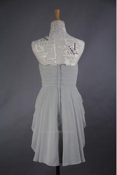 A-Line Sweetheart Short Chiffon Bridesmaid Dresses/Wedding Party Dresses BD010732
