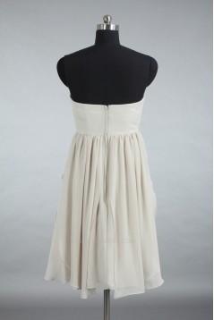 A-Line One-Shoulder Short Chiffon Bridesmaid Dresses/Wedding Party Dresses BD010740