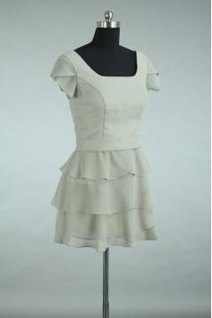 A-Line Short Chiffon Bridesmaid Dresses/Wedding Party Dresses BD010781