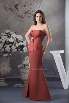 Beading Floor-Length Soft Sweetheart Mermaid/Trumpet Best Bridesmaid Dresses 02010003