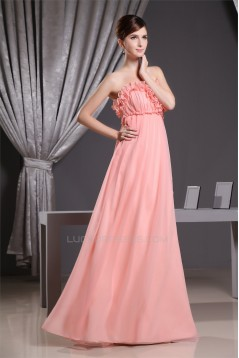 Great Strapless Empire Floor-Length Long Maternity Bridesmaid Dresses 02010056