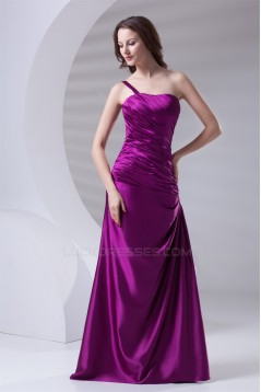 A-Line Sleeveless Floor-Length Long Purple Bridesmaid Dresses 02010128