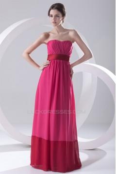 A-Line Sleeveless Floor-Length Sweetheart Long Bridesmaid Dresses 02010130