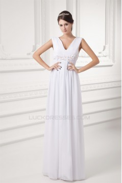 Beading V-Neck Floor-Length Sheath/Column Long Bridesmaid Dresses Maternity Bridesmaid Dresses 02010135