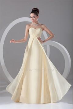 Chiffon Ruched Floor-Length Long Bridesmaid Dresses 02010145