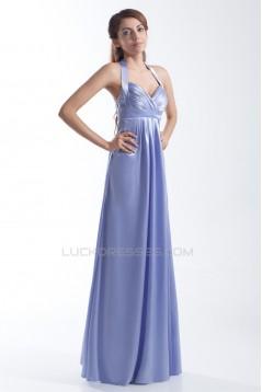 Fantastic Halter Pleats Sheath/Column Bridesmaid Dresses Maternity Bridesmaid Dresses 02010152