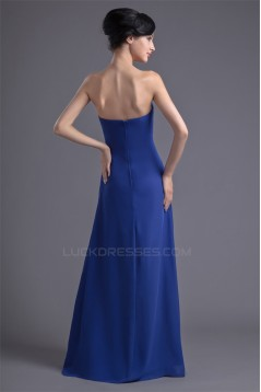 Empire Sweetheart Chiffon Long Bridesmaid Dresses Maternit Evening Dresses 02010201