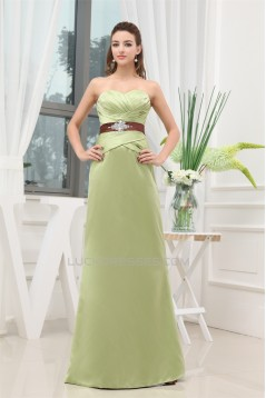 Sleeveless Beading Sweetheart Floor-Length Bridesmaid Dresses 02010218