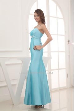 Trumpet/Mermaid Spaghetti Straps Sleeveless Bridesmaid Dresses 02010233