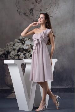 Draped A-Line Sleeveless Chiffon Maternity Bridesmaid Dresses 02010283