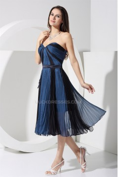 A-Lien Pleated Chiffon Best Short Bridesmaid Dresses 02010320