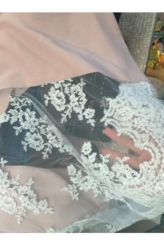 Trumpet/Mermaid Sweetheart Lace Long Pink Bridesmaid Dresses 3010026