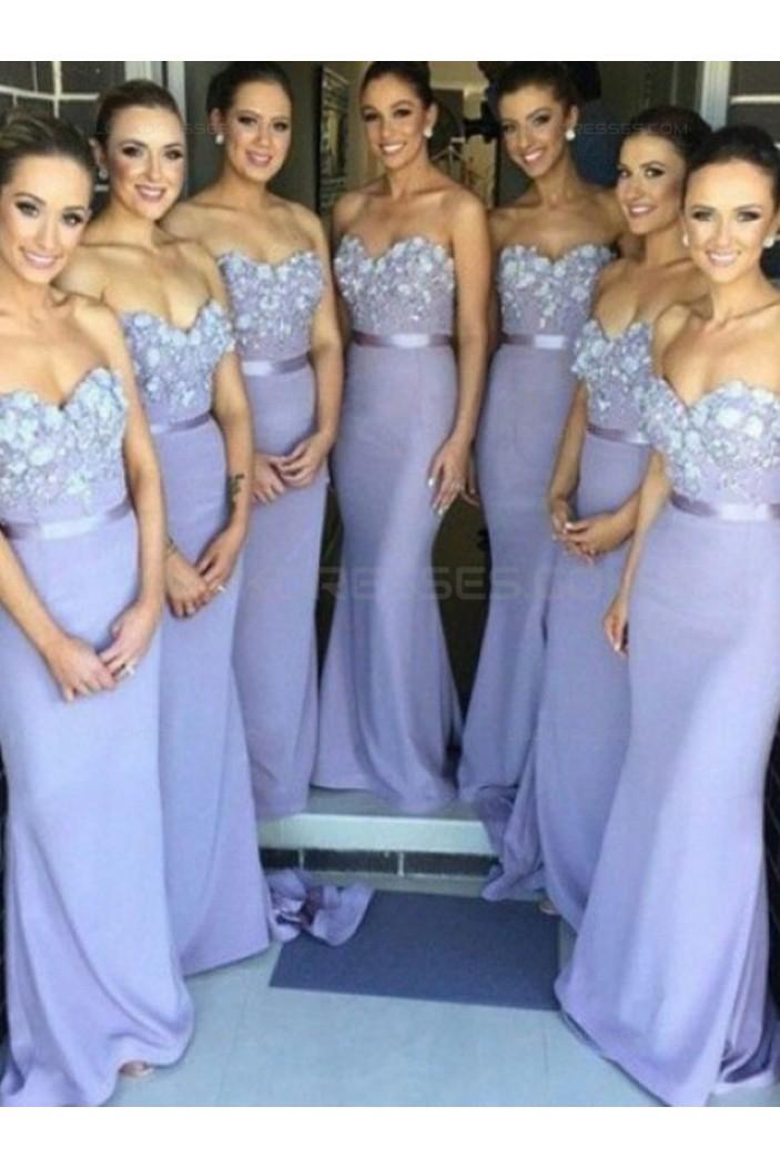 Trumpet/Mermaid Sweetheart Wedding Party Dresses Bridesmaid Dresses 3010072